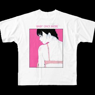 タナカ ヒロキのBABY ONCE MOREフルグラフィックTシャツ