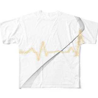 脈打つ Full graphic T-shirts