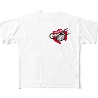TEAM COC(ポリエステル) Full graphic T-shirts