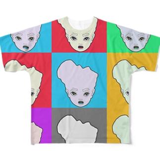 アンジェマミレ フルグラフィックTシャツ
