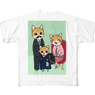 みっちゃの入学祝い Full graphic T-shirts