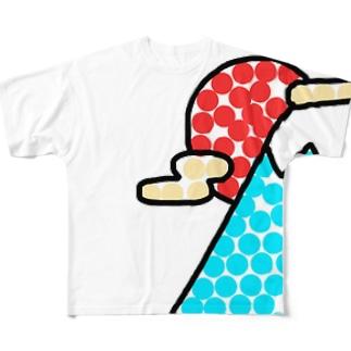 フジ Full graphic T-shirts