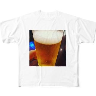 🍺麦酒 Full graphic T-shirts