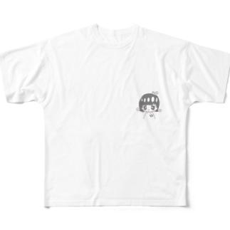 高松可菜子 Full graphic T-shirts