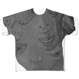 百面相 Full graphic T-shirts