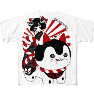 こまこちゃん Full graphic T-shirts