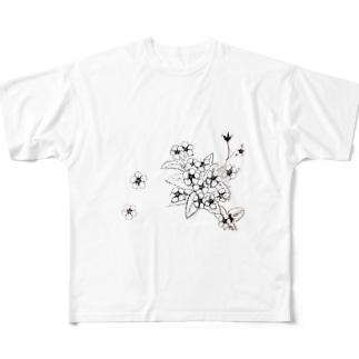 らっとぅヤマルリソウシリーズ Full graphic T-shirts