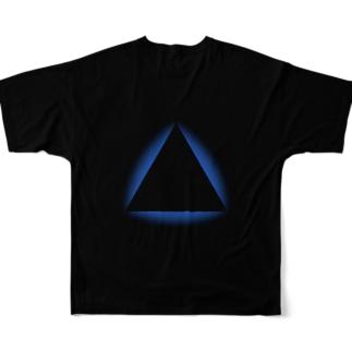 エササニ【宇宙文明シリーズ】 フル Full graphic T-shirts