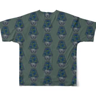 PatchingMushroomT Full graphic T-shirts