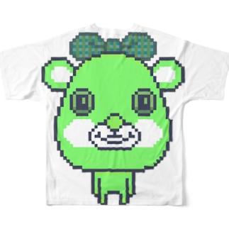 ボクはくまがすき Full graphic T-shirts