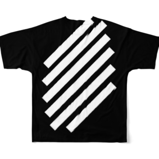 black selection by whaison Full graphic T-shirts