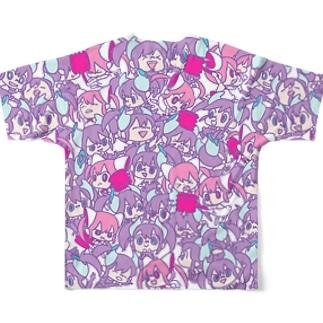 ちびちびXenna Full graphic T-shirts