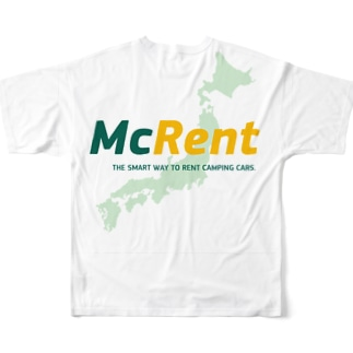 マクレント オリジナルグッズ Full graphic T-shirts