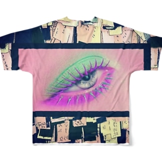 卍華教 Full graphic T-shirts