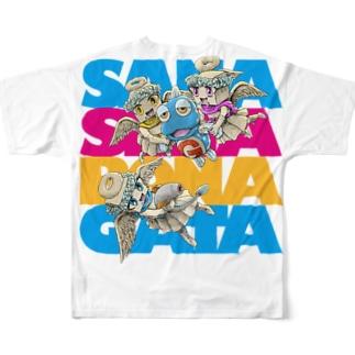 妖精に召された魚2 Full graphic T-shirts