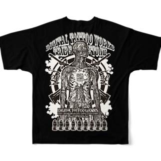 SQUAREPACK13 TRIBE SKLETONS All-Over Print T-Shirt