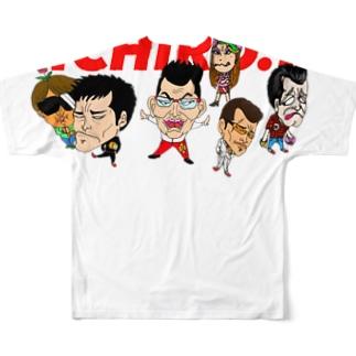 ICHIRO.F Full graphic T-shirts