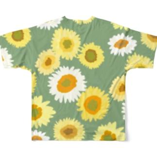 夏の終わり Full graphic T-shirts