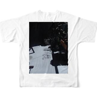 plant shadow Full graphic T-shirts