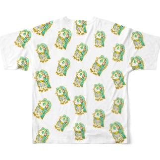 アマビエドット Full graphic T-shirts