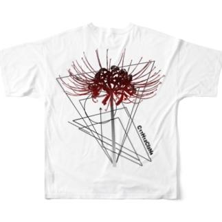 彼岸花。 Full graphic T-shirts