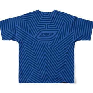 金理有×ASITA_PRODUCTS  Full graphic T-shirts