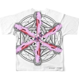 デーモンの召喚 Full graphic T-shirts