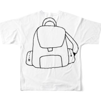 リュックサック風 Full graphic T-shirts