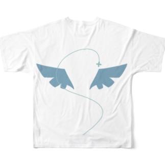 病弱天使Tシャツ Full graphic T-shirts
