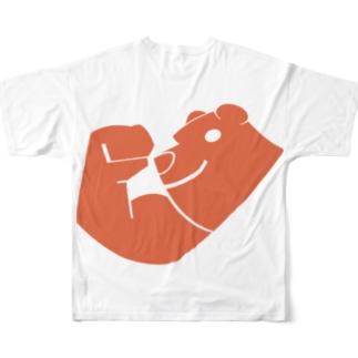 kyo bear🐻 Full graphic T-shirts