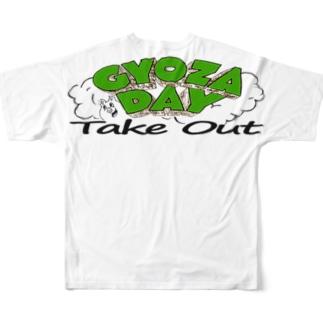 gyozadaybackprint Full graphic T-shirts