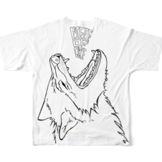 Full Graphic wolfT  Full graphic T-shirts