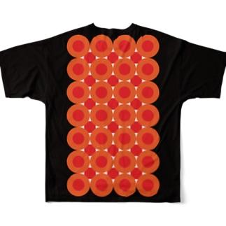 イクラのお寿司になろう Full graphic T-shirts