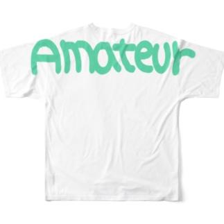 アマチュア② Full graphic T-shirts