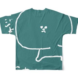 つみれちゃん太郎さん Full graphic T-shirts