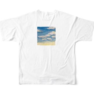 空 Full graphic T-shirts
