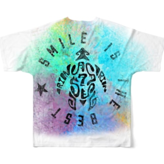 ORION marble Full graphic T-shirts