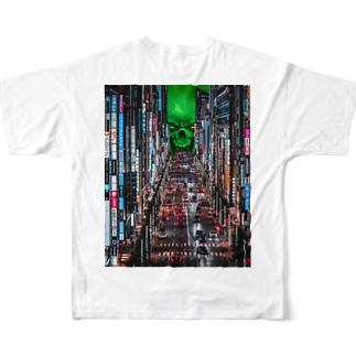 吸い込まれ〜るぅ Full graphic T-shirts