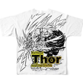 雷神:トール Full Graphic T-Shirt