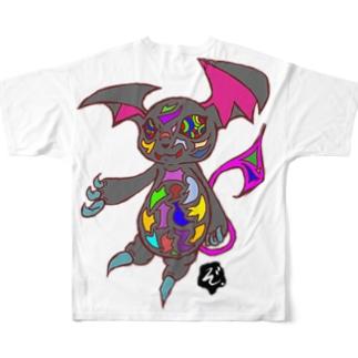★数量限定★ サイケデリックな小悪魔 Full graphic T-shirts