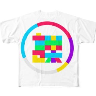 渡邊課 Full graphic T-shirts