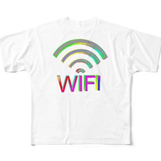 Wi-Fi Full graphic T-shirts