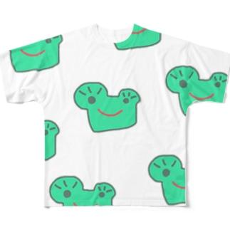 小松ケロマツ Full graphic T-shirts