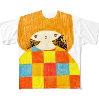 GIRL Full graphic T-shirts