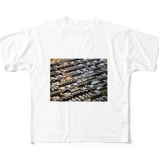 王宮のスクリプト Full graphic T-shirts