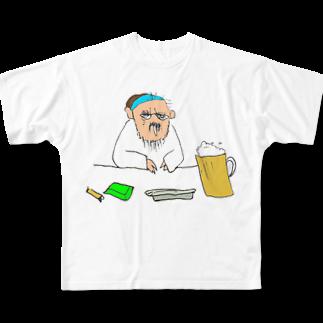 kObitOの休日のんだくれ Full graphic T-shirts
