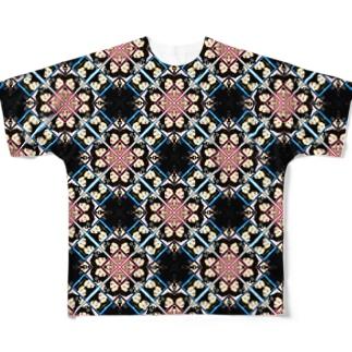 これを着れる勇者を求む(インドデザイン) Full graphic T-shirts