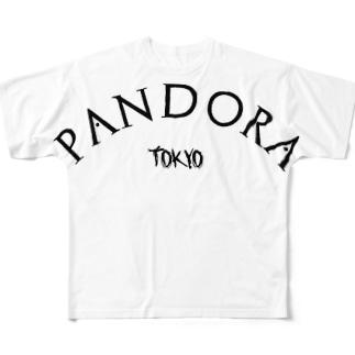 PANDORA ロゴT Full graphic T-shirts