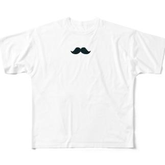 シンプル髭男爵 Full graphic T-shirts