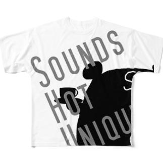 SoundsHotUnique フルグラフィックTシャツ